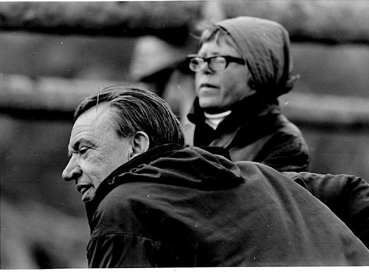 I arkivet: Filmarkitekt og scenograf Grethe Hejer